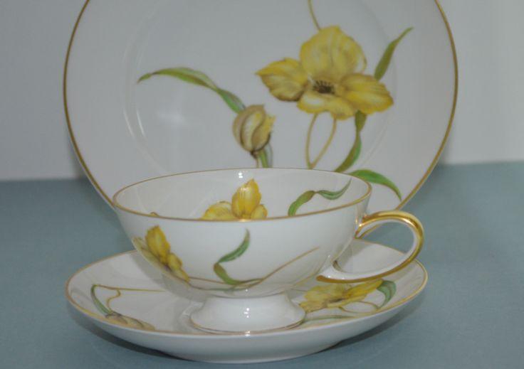 Zestaw deserowy, fili�anka Rosenthal do herbaty