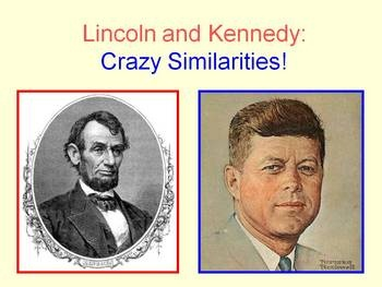 a comparison of john f kennedy and abraham lincoln Free essay: comparing abraham lincoln and john f kennedy the two most discussed assassinations out of the four within the position of the united states.