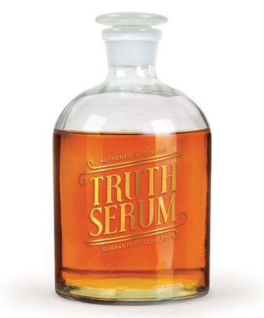 Another great find on #zulily! 'Truth Serum' Decanter #zulilyfinds