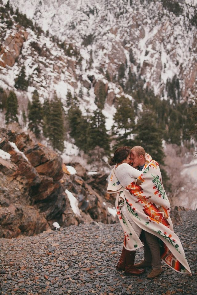 jessica janae  engagements in the canyon