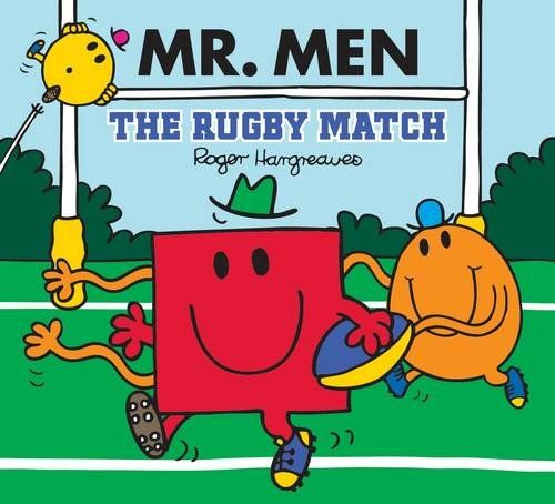 Mr Men The Rugby Match (Mr. Men & Little Miss Celebrations) by Roger Hargreaves http://www.amazon.co.uk/dp/1405278765/ref=cm_sw_r_pi_dp_G.C9vb0DHMHWB