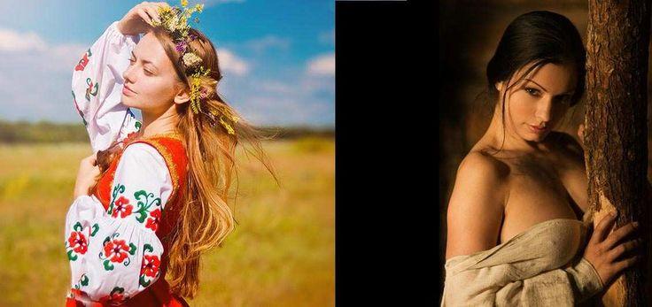 Ukraine : l�arch�type de la femme slave et les cr�atures des t�n�bres. Bonne f�te, les femmes�D�but mars, dans les pays de l�ex-URSS, c�est le d�but du printemps et le moment de la f�te des femmes, le 8 mars, que tout le monde croyait en Russie internationale...