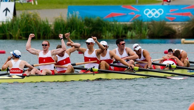 Canada wins silver in Olympic men's eight