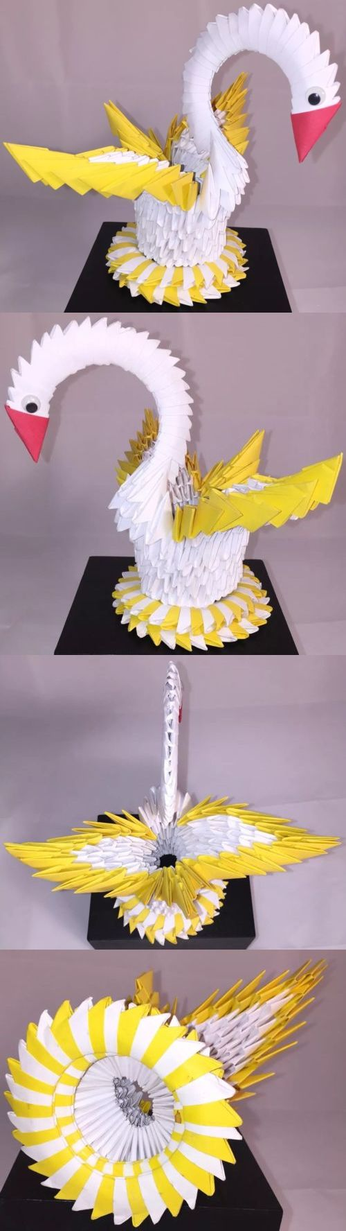 Pin Swan Origami Diagram On Pinterest