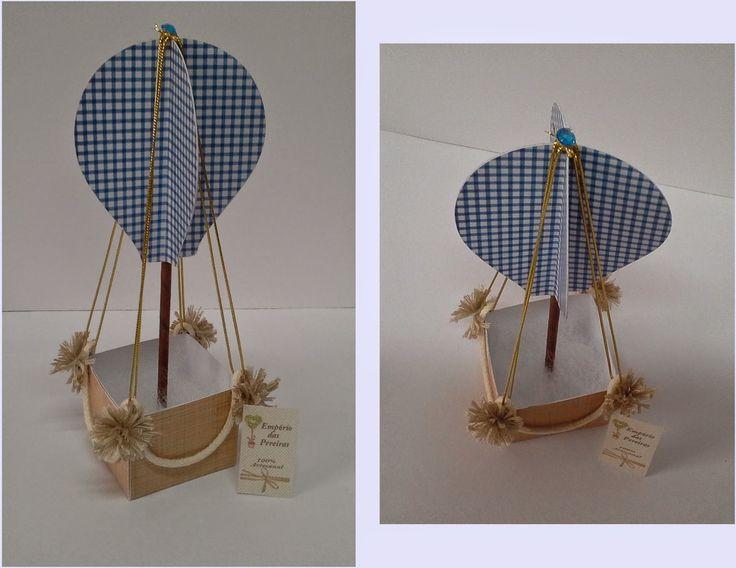 Balão para lembrancinha ou enfeite de mesa. Mais detalhes clique na figura abaixo.
