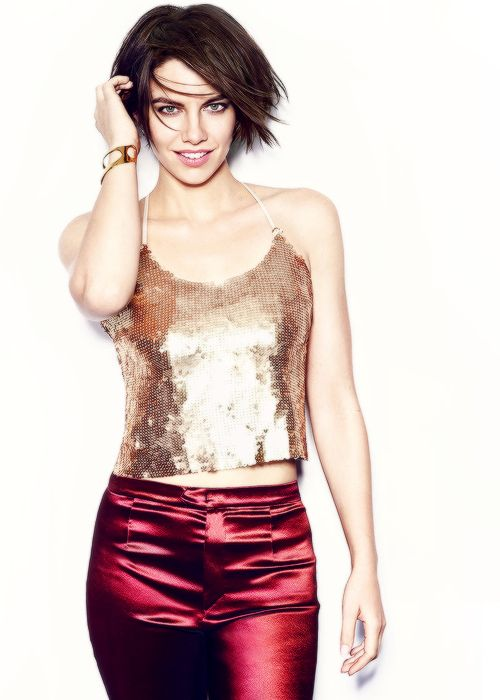 Lauren Cohan photographed by James White for Health Magazine