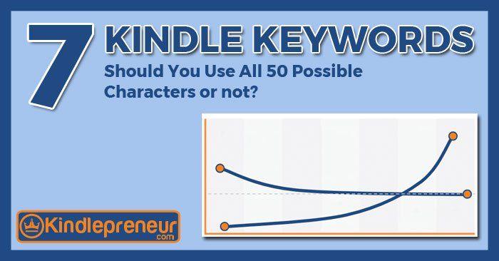 7 Kindle Keywords: Verwenden Sie alle 50 Zeichen oder nicht?