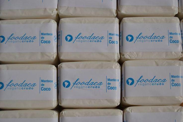 Manteca de coco puro 100% Natural