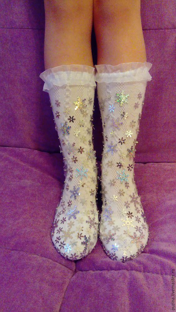 Делаем сапожки для Снегурочки - Ярмарка Мастеров - ручная работа, handmade