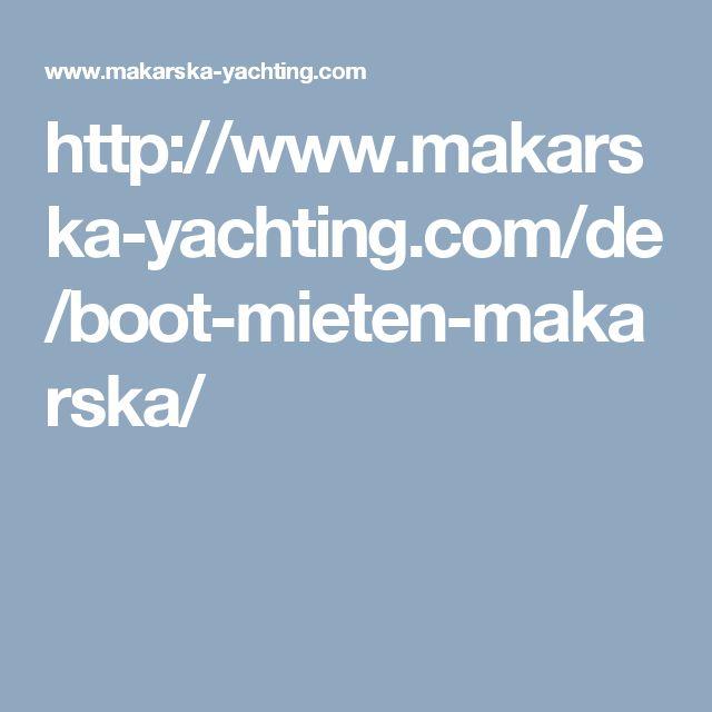 http://www.makarska-yachting.com/de/boot-mieten-makarska/
