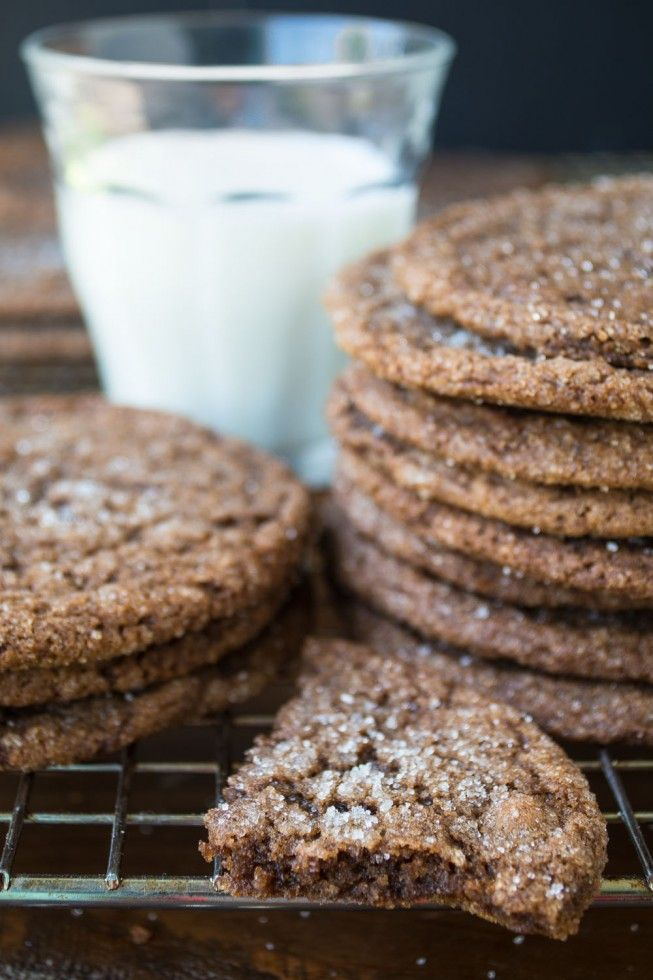 Chewy Chocolate Ginger Cookies are the perfect way to kick off fall baking! | The View from Great Island
