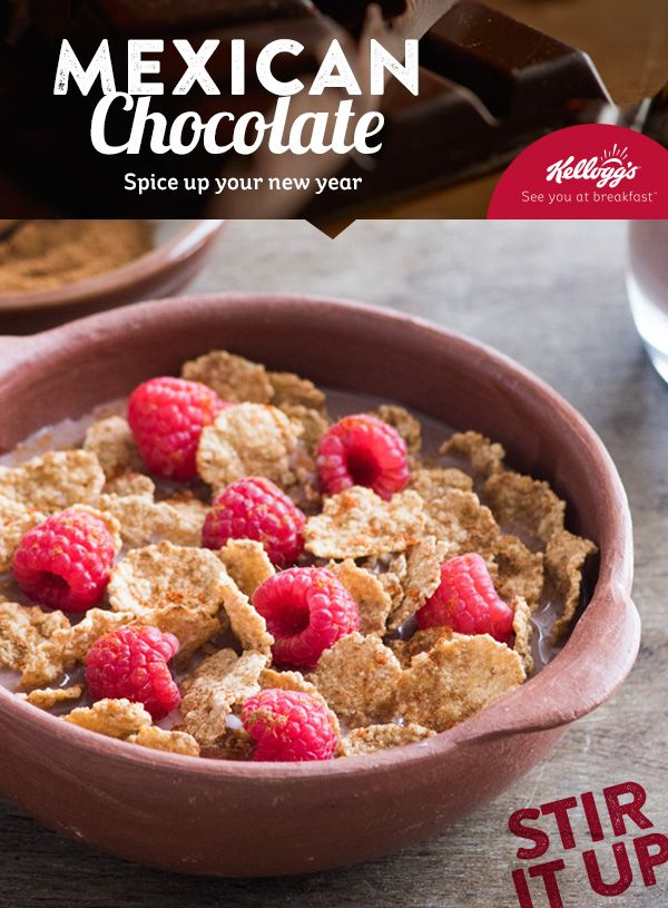 9 best new year new breakfast images on pinterest cereal combine kelloggs special k gluten free chocolate milk cinnamon cayenne pepper and raspberries this mexican chocolate breakfast recipe is sure to make ccuart Choice Image