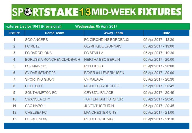 Midweek Lottery Results