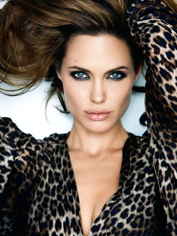 Angelina Jolie... always admired her smoky eyes, and most specially her social work around the world.