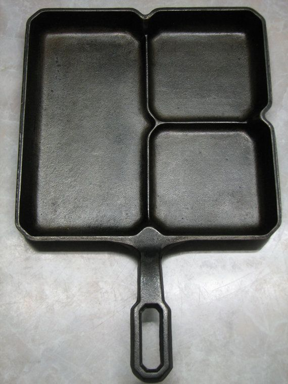 This is a ~ GRISWOLD ~ COLONIAL SKILLET ~ 666 B ~ is in very nice collectible condition as shown. It is super clean ready to cook with or display.