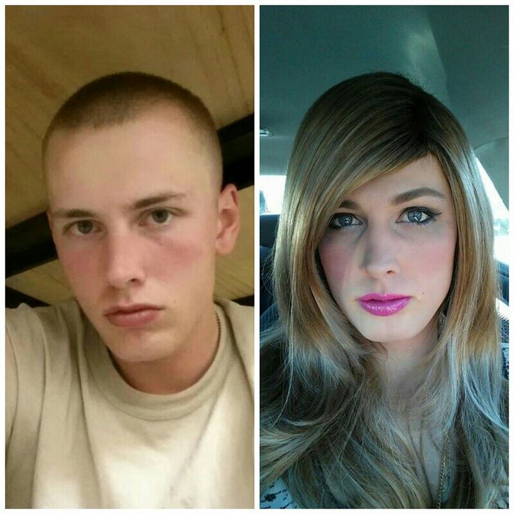 Male to female trans before and after-7636
