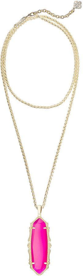 Pin for Later: 50 Gifts For Anyone Who Likes All Things Pretty, Sparkly, and Pink  Kendra Scott Frances Long Pendant Necklace ($90)