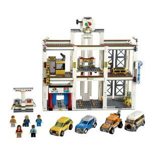 LEGO City Garage (4207) Exclusive by LEGO. $148.95. LEGO City Garage (4207) Exclusive. It's always busy at the City Garage!  The 3-story City Garage is always full of busy drivers tending to their cars! Ride the elevator and buy a ticket and to park! Then help the security guard to keep a lookout for robbers. Drive out of the garage to take your car through the carwash and make it sparkle, fill it up with fuel or tow it to the workshop where the mechanic can repair it! T...