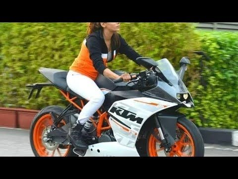 Never Mess With Female Biker Ktm Duke Hindi Songs Raising