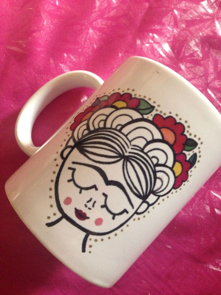 #fridakahlo #frida #cup #mug #taza #handmade Frida Kahlo mug Sale on…