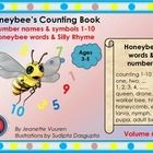 HONEYBEE'S COUNTING BOOK, Volume 6 of the Honeybee Series, consists of approximately 55 pages which include honeybee words, phrases, sentences and ...