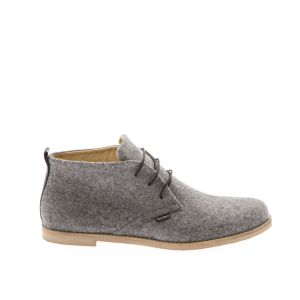 Men's Desert Shoe Grey-- Wool Felt shoes