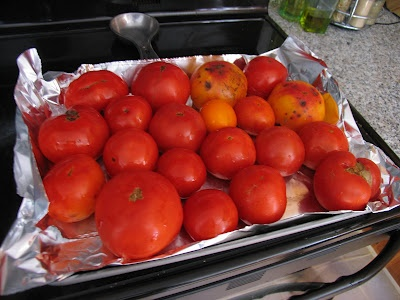 Big Batch of Roasted Tomato Sauce to Store for the Winter