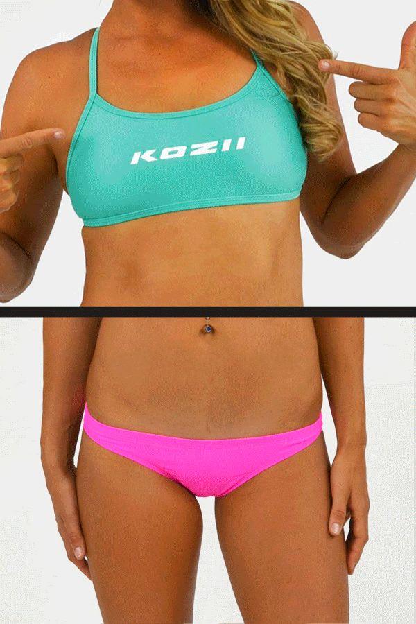 New Kozii Match Ups Range available online now! www.kozii.com #swim #swimwear #kozii #beach #pool #training #bikini #summer