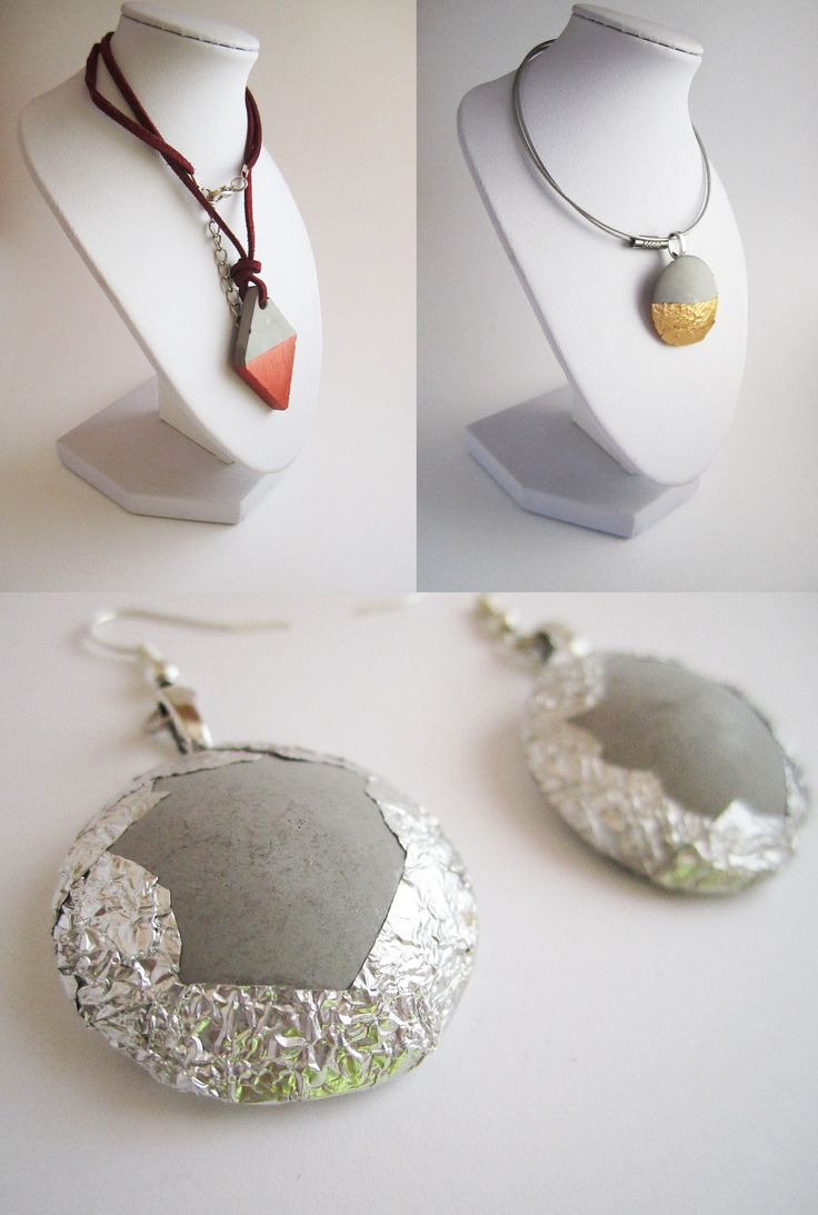 Bijoux en b ton croncrete jewel beton juwelen pinterest concrete concrete jewelry and - Pinterest beton ...