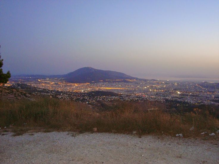 Athens view from Penteli