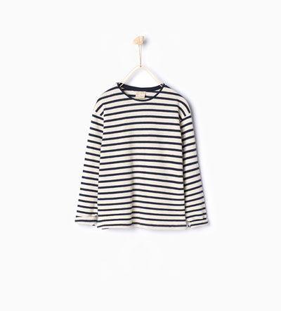 ZARA - DZIECI - Koszulka w paski