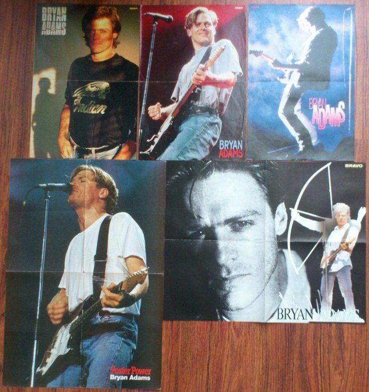 Брайан Адамс плакаты фотографии вырезки лот | eBay