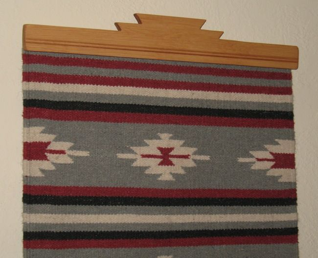 Nice Rug Hangers For Wall NOTE: All U0027Honey Pine Stainedu0027 Rug Hangers