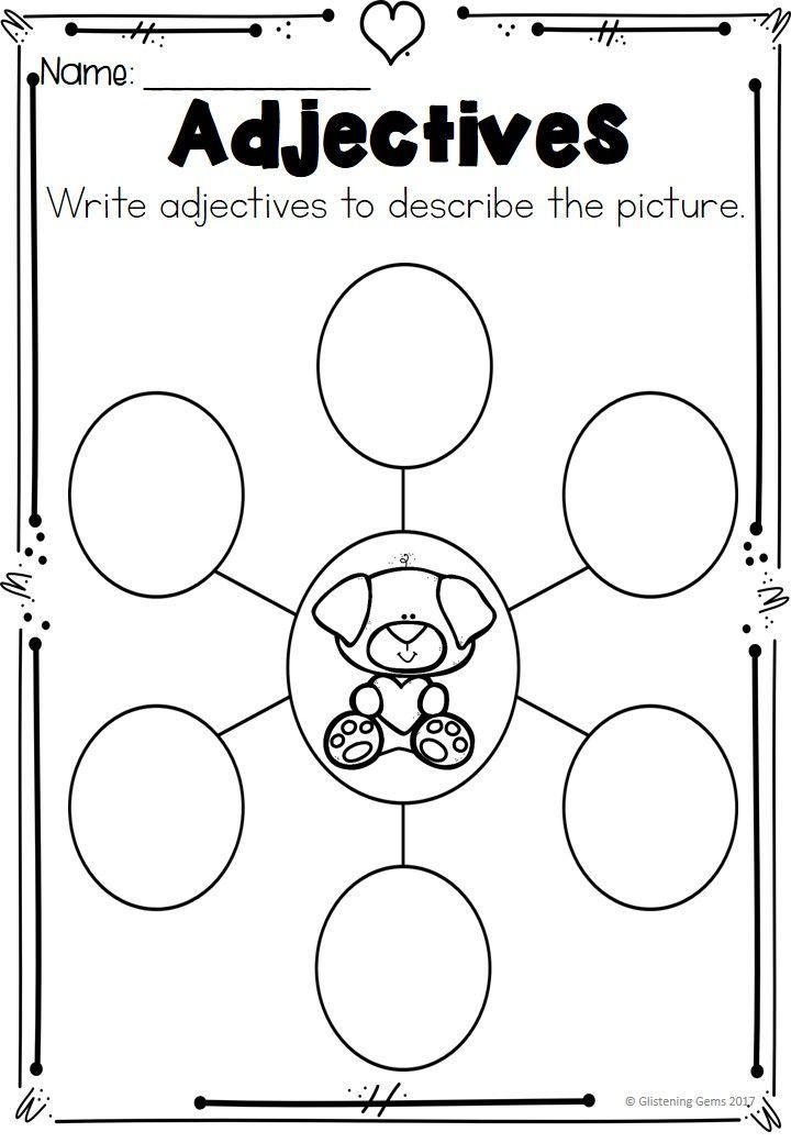 Best 25+ Adjective worksheet ideas on Pinterest