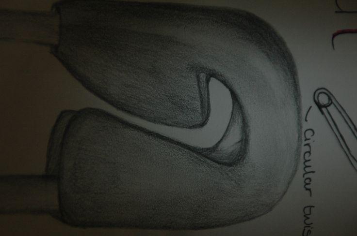 Safety pin drawing