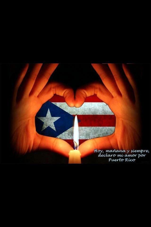 Amor Por Puerto Rico Bandera De Puerto Rico Pinterest