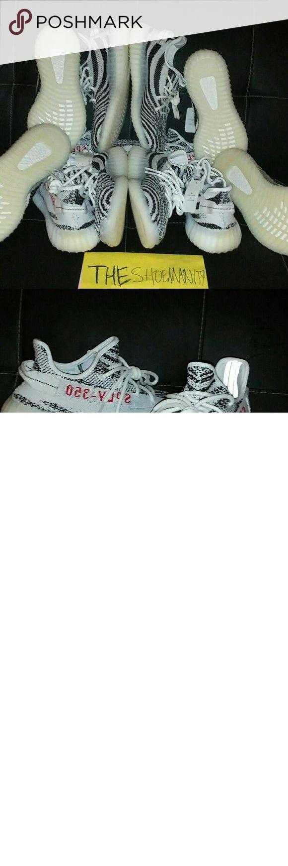 Adidas Yeezy 350 v2 Zebra Yeezy Brand new in box Multiple sizes available  Satisfaction Guaranteed,