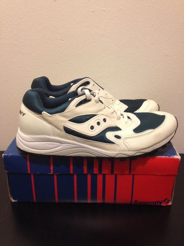 Saucony Jazz 5000 1995 Vintage Running Shoes NOS Deadstock 11 Brand New  #Saucony #RunningCrossTraining