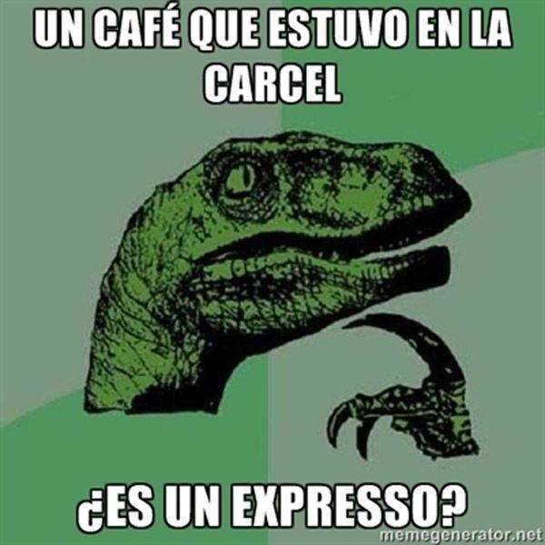 Un café que estuvo en la cárcel, ¿es un expresso?