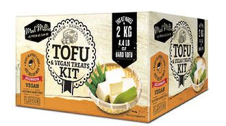 Make you own Tofu! All you need is soy bean or soy milk.