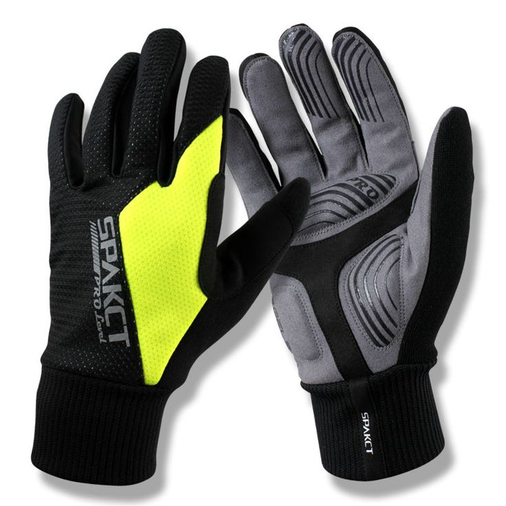 SPAKCT PRO's Cycling Gloves GEL Mountain Gloves,touch screen Leather Elastic MTB Bicycle Gloves Guantes S13G10 #Affiliate