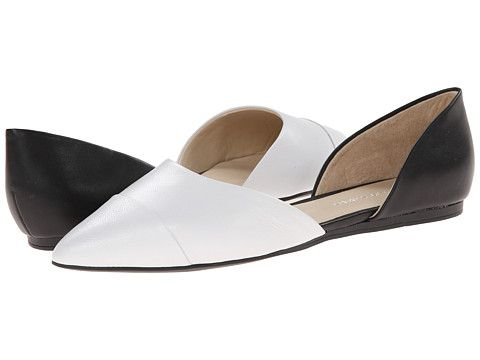 Franco Sarto Hawk White/Black Leather - Zappos.com Free Shipping BOTH Ways