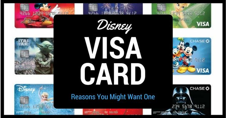If you are thinking about going to Disney then I would suggest you consider getting a Disney Rewards Visa Card.The rewards & benefits make it worth considering.