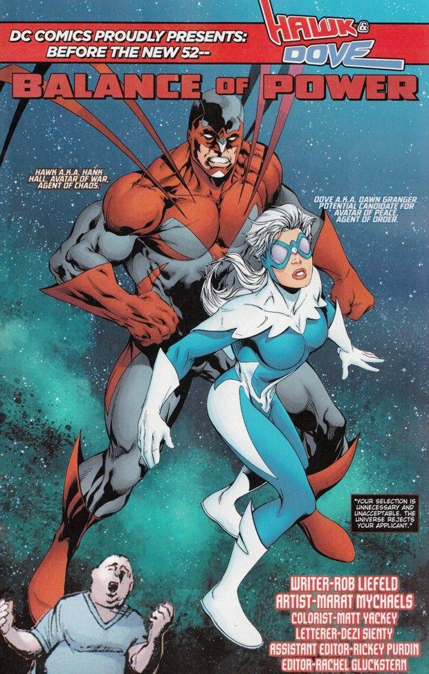 DC Comics Dove | DC Universe Presents #0: OMAC, Mister Terrific, Hawk & Dove ...