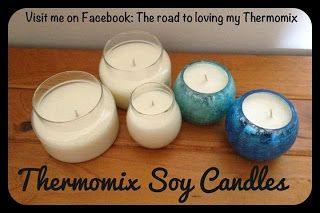Thermomix Soy Candle Tutorial