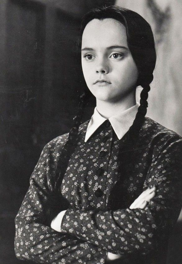 Designer-Approved Halloween Costumes: Christina Ricci as Wednesday Addams