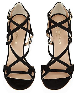 Olivia Palermo's #NYFW Pin Picks: Try these Kurt Geiger strappy sandal inspired by Dennis Basso SS '15.