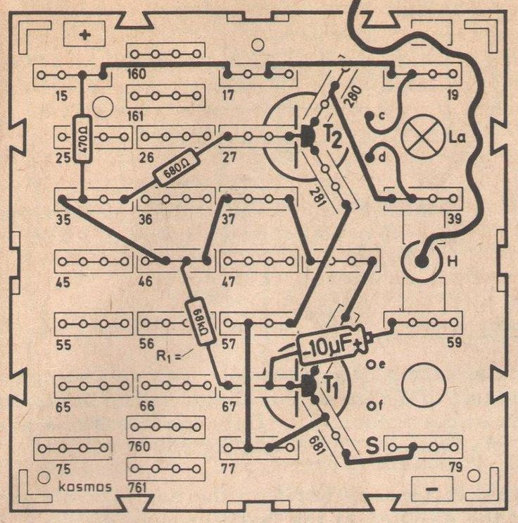 crystilogic:    Circuit diagram for a metronome, from Science Fun Experiments in Electronics by Hanna Höck (Logix-Kosmos, 1973)