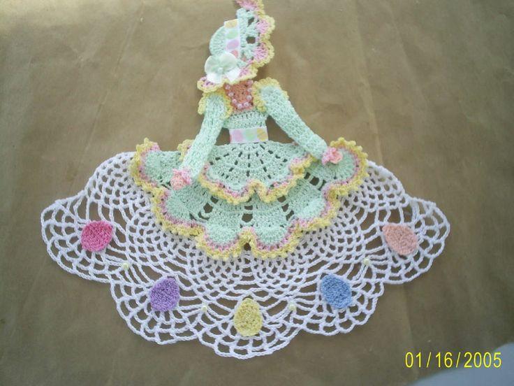 Handmade Crocheted Easter Parade Crinoline