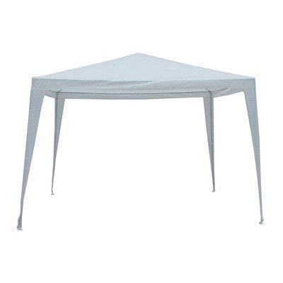 LB International 8' x 8' Canopy Color: White